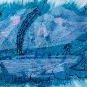 barque dans le journal créatif delphine rimaz à fribourg